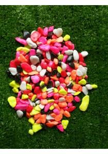 Coated Stone Garden Landscape Decor A (1cm-3cm Mix Color ) - 2kg