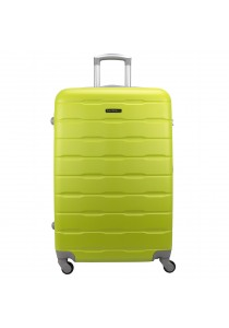 "Royal McQueen Hard Case 4 Wheels Spinner Light Weight 20"" Luggage - QTH6910 (Green)"