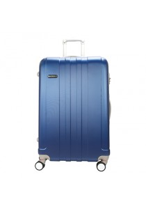 "Royal McQueen Hard Case Extra Light 8 Wheels 24 "" Luggage -QTH6911 (Blue)"