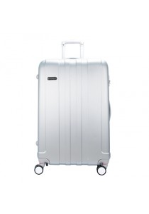 "Royal McQueen Hard Case Extra Light 8 Wheels 28 "" Luggage -QTH6911 (Silver)"
