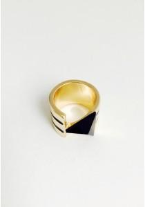 G. Stripe in Vogue Ring