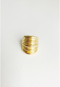 G. Audacious Clear Ring