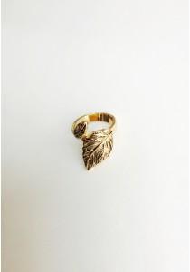 G. Golden Leaf Ring