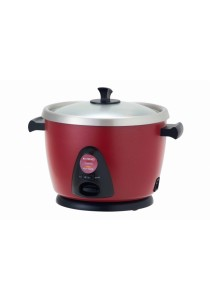 Khind Rc118m Anshin Rice Cooker 1.8L SS Pot (Red)
