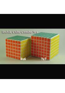 (Combo Set) Professional Rubik's Cube Puzzle - 6x6, 7x7