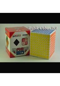 Professional Rubik's Cube Puzzle - 9x9