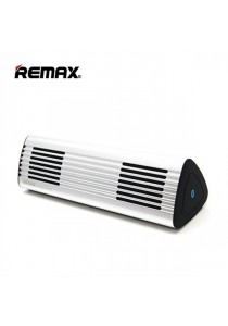 Remax RB-M3 Portable Wireless Bluetooth 4.0 Aluminum Body Speaker - Silver