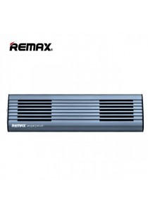 Remax RB-M3 Portable Wireless Bluetooth 4.0 Aluminum Body Speaker - Blue