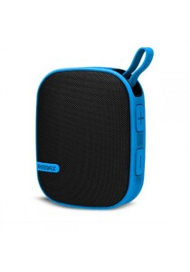 Original Remax RB-X2 Water Resistant Wireless Bluetooth Speaker With Mountaineering Buckle - Blue