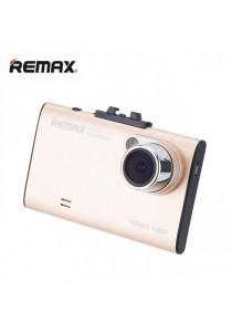 Original Remax CX-01 HD 1080P Car DVR Safe Journey Recorder - Gold