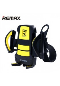 Original Remax RM-C08 Bicycle Mobile Phone GPS Maps Holder - Yellow