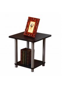Flexipole No Tools Side Table in Black Oak Finishing