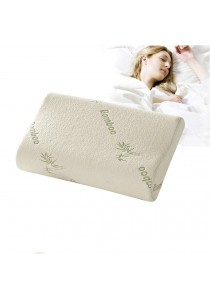 Sleep Bamboo Fiber Slow Rebound Memory Foam Pillow  30X50cm
