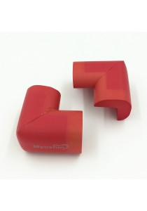 Myoshin Safety Table Corner Edge Protect Cushion (1 set 10 pieces) - 023 (Red)