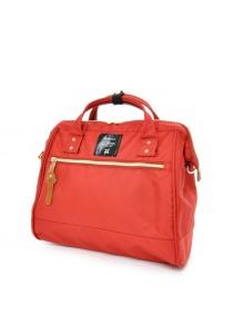 100% Authentic Anello (Regular) Polyester Shoulder Handbag (Red)