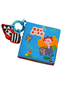 Cloth Book - Baby's First Book 0-3 years old -BKM06