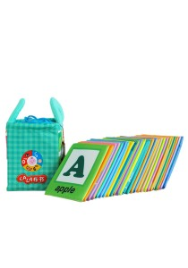 Cloth Alphabet Learning Card 0-3 years old - BKM01