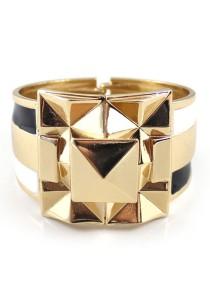 Gold Color Alloy Bracelet 5.8cm - BC175