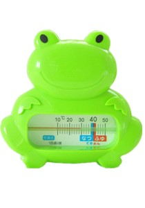Baby Bath Thermometer - BKM04 (Green Frog)