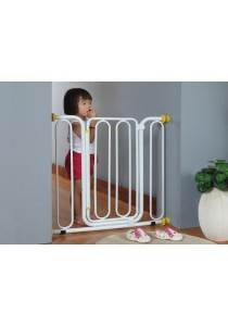 Unleaded Coating Baby Gate 840mm Extended to 990mm