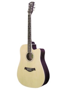 Mukita by BLW 41 Inch Acoustic Guitar Package SD410 (Natural)
