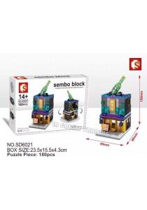Sembo Block SD6021 KTV mini street city building blocks (Lego Compatible)