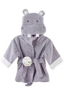 Cartoon Cotton Towel Bathrobes - CCTB (Hippo)