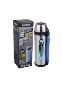 ZOJIRUSHI 1.2L Bottle with Cup - SJ-SD-12-XA (Stainless)