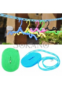 SOKANO Fence Cloth Laundry Drying Hanging Line