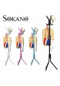 Sokano 12 Hooks Hanging Pole For Clothing & Accessories