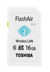 Toshiba Class 10 FlashAir 16GB WiFi SD Memory Card