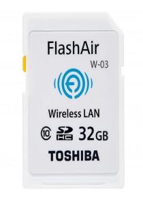 Toshiba Class 10 FlashAir 32GB WiFi SD Memory Card