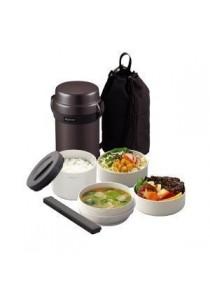 ZOJIRUSHI 1.23 L Lunch Jars - SL- JAF-14- HG - (Gun Metallic)