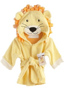 Cartoon Cotton Towel Bathrobes - CCTB (Lion)