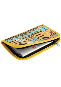 Yellow School Bus Series Cute Multifunction Mom's Handbook -MMB104