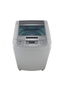 LG Free Silver 9kg Top Loader with Tempered Glass Lid WF-SP90S