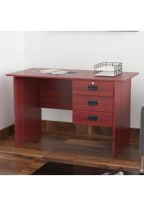 A-Tech: 3 Drawers Study Table SR 9203 (Mahogany) (15mm)