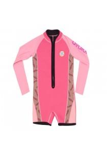 Avalon Neoprene Kids Swimsuit  (Pink) Age 3 - 10