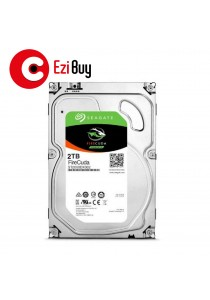 Seagate 2TB FireCuda ST2000DX002 Solid State Hybrid Drive 3.5'' Internal Gaming SSHD