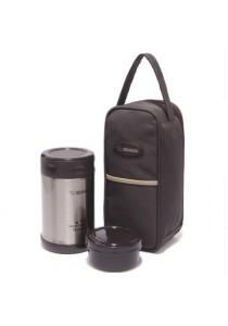 ZOJIRUSHI 500ml S/S Food Jar - SW-EXE-50-BL (Lamp Black)