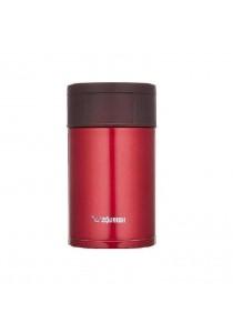 ZOJIRUSHI 450ml S/S Food Jar - SW-HAE-45-RM (Metallic Red)