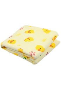 60cmx70cm Baby Yellow Duckling Waterproof Washable Diaper Changing Mat Pad (BKM09) - M