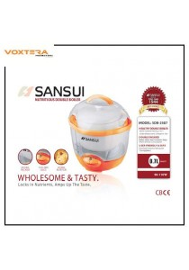 Sansui 0.7 Litre Double Boiler 2 in 1 Isolated Stewing