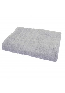 Essina 100% Soft Cotton Bath Towel Sara 70cm x 140cm - GREY