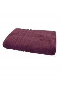 Essina 100% Soft Cotton Bath Towel Sara 70cm x 140cm  - PURPLE