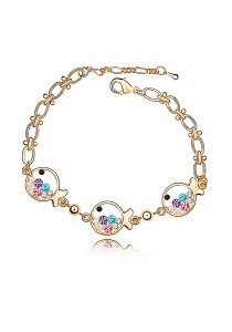 LinkedinLove Swarovski Little Fish Bracelet