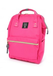 100% Authentic Anello - Classic Backpack Coral Pink Regular Size