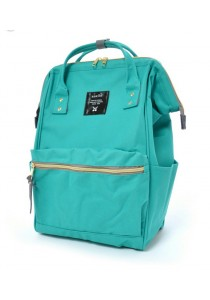 100% Authentic Anello - Classic Backpack Emerald Green Mini Size