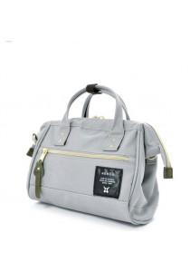 100% Authentic Anello Boston 2 Bag (Light Grey) Small