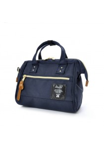 100% Authentic Anello Boston 2 Bag (Navy) Small
